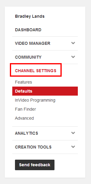 Did You Know? Set YouTube Defaults for Future Uploads