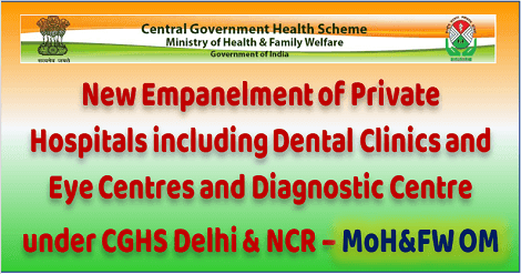 empanelment-of-private-hospitals-cghs-delhi-ncr