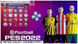 Download eFootball PES 2022 PPSSPP Beta V2 English Version Promotion Team Update & New Transfer