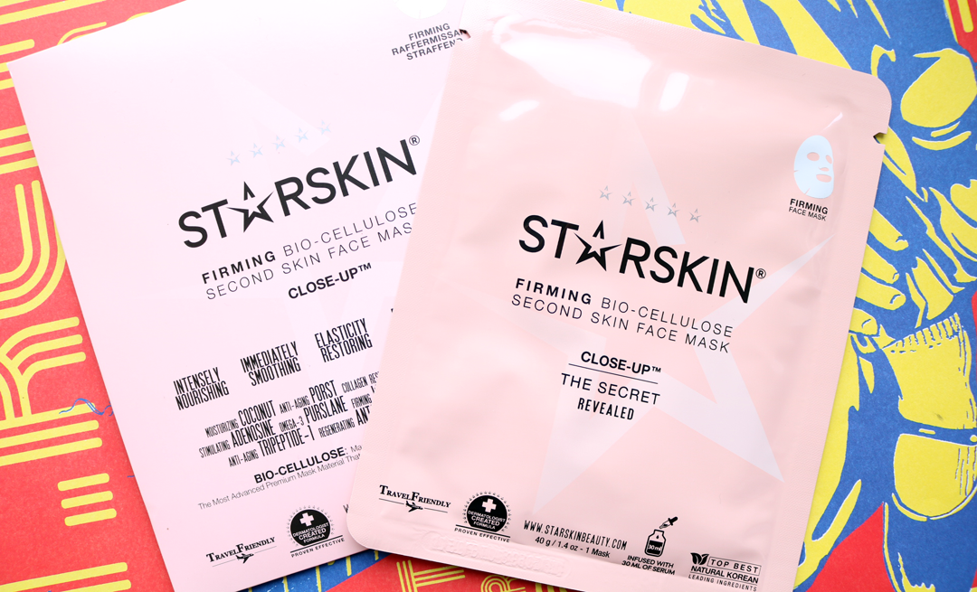 STARSKIN Close-Up Firming Bio-Cellulose Face Mask