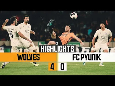Wolves vs Pyunik 4-0 All Goals And Match Highlights [MP4 & HD VIDEO]