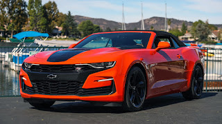 2019 Chevrolet Camaro SS front view
