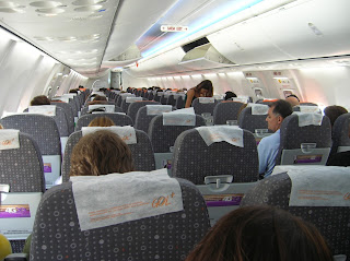 Interior Boeing 737 de GOL, Brasil, La vuelta al mundo de Asun y Ricardo, round the world, mundoporlibre.com