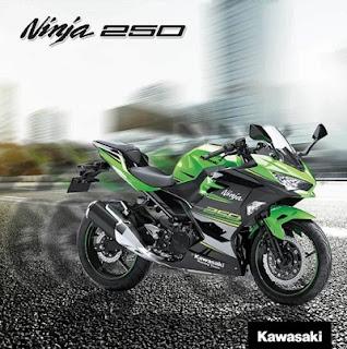 dealer resmi Kawasaki Ninja 250 cc 2018