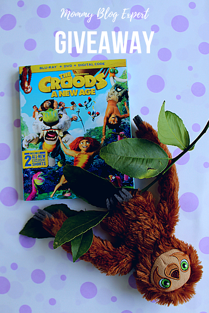 The Croods New Age Bluray DVD Giveaway