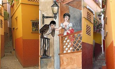 callejon del beso guanajuato mexico
