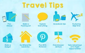 Tips on traveling by airplane