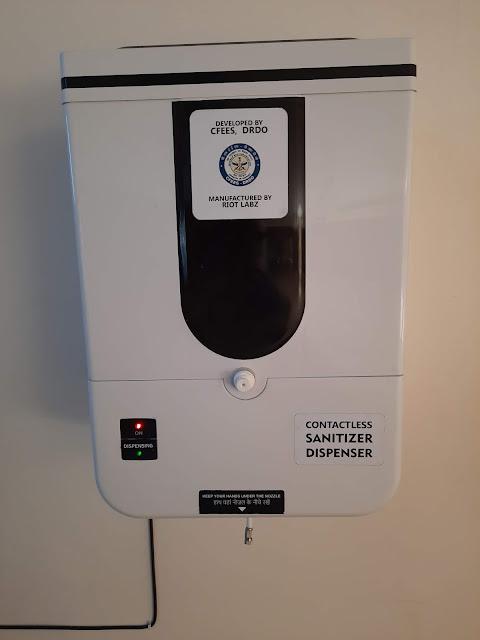 Sanitizer-dispensing-Unit