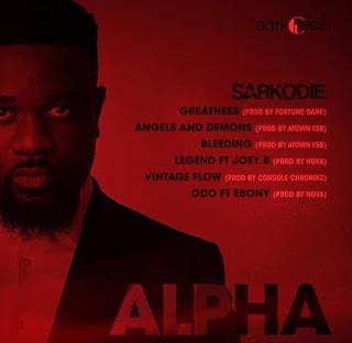 Sarkodie - ALPHA ( Download Full EP- Audio MP3)