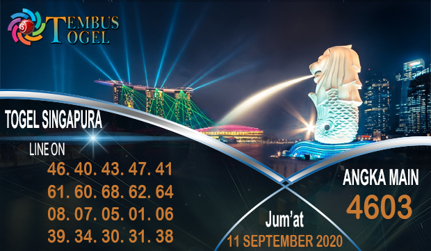 Mimpi Angka Togel Singapura Jum'at 11 September 2020