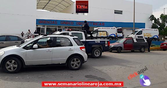 Pistolero se viste de enfermero para entrar al Hospital General de Playa del Carmen