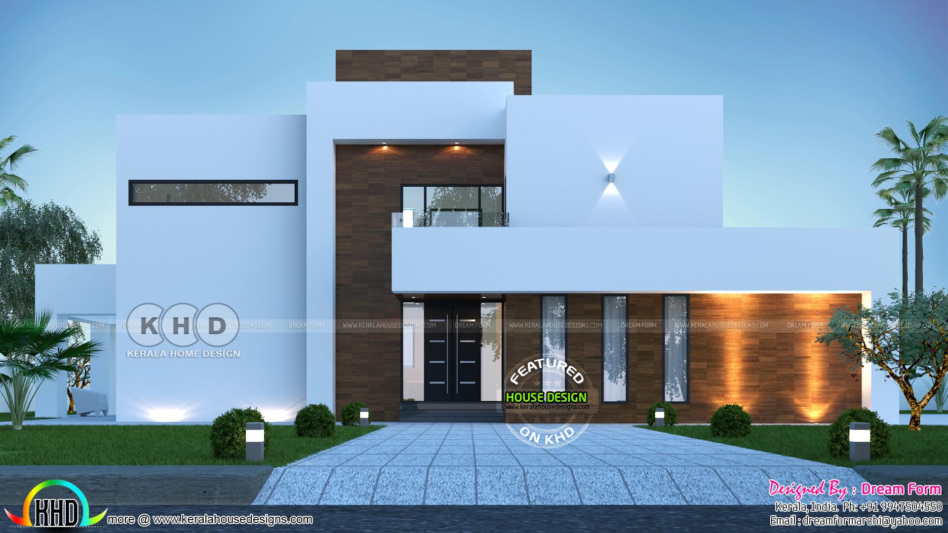 5 Bedroom Home Design Front And Back 3d Elevations Kerala Home Design Bloglovin