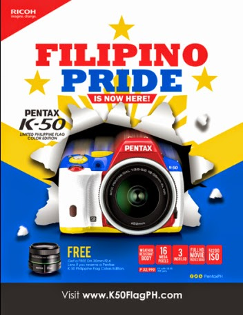 Pentax K50 Philippines LE Early Bird Promo Poster