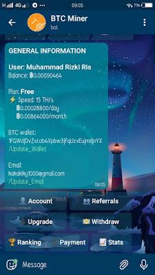 mining bitcoin bot telegram