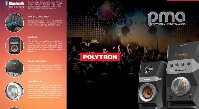 Harga 700 Ribuan Begini Fitur Keren Polytron PMA Untuk Menikmati Musik Kesayangan Sobat