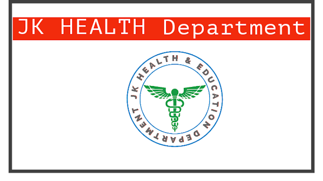 Health and Medical Education Department Recruitment 2021