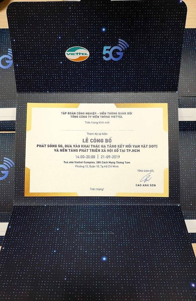 Nơi thử nghiệm GSM 5G đầu tiên ở Việt Nam? Đâu là nhà mạng đầu tiên có 5G!