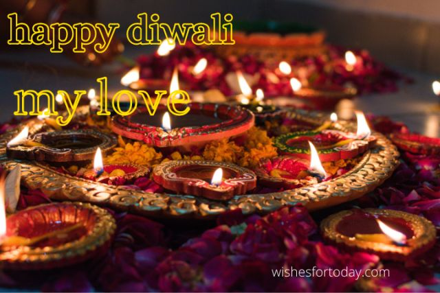 Happy Diwali My Love Images