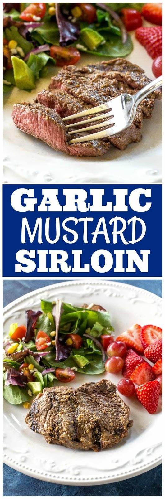 Garlic Mustard Sirloin