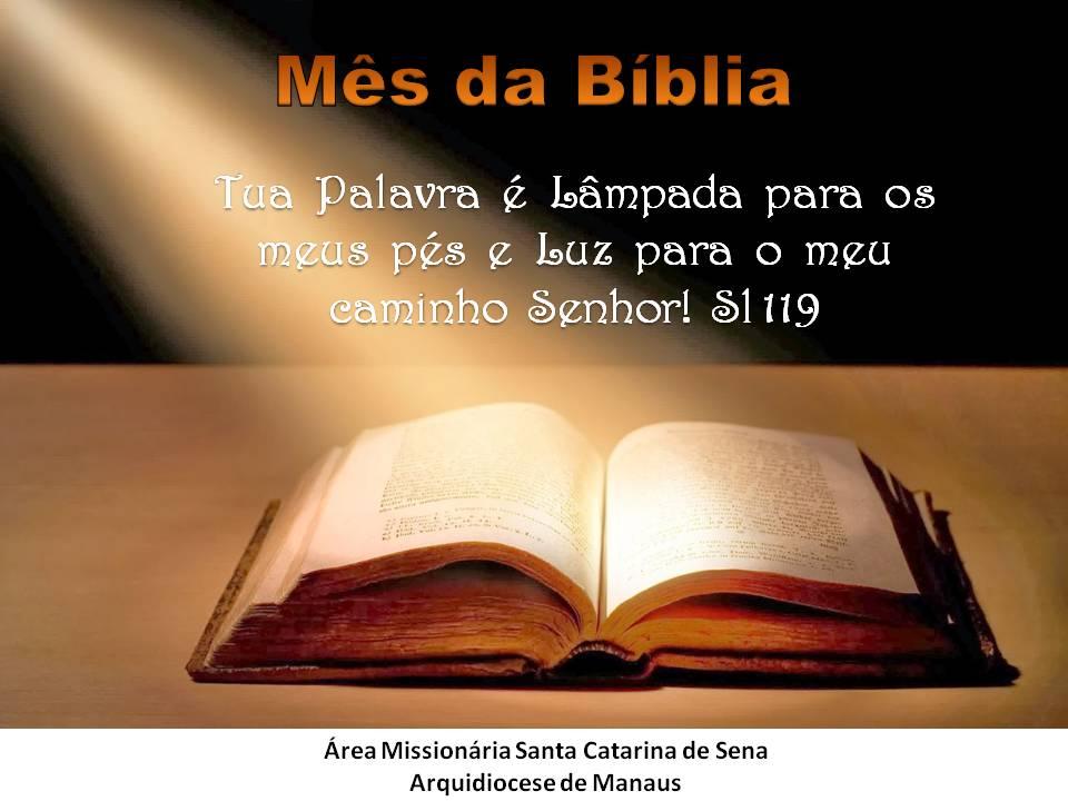Área Missionária Santa Catarina de Sena: Setembro Mês