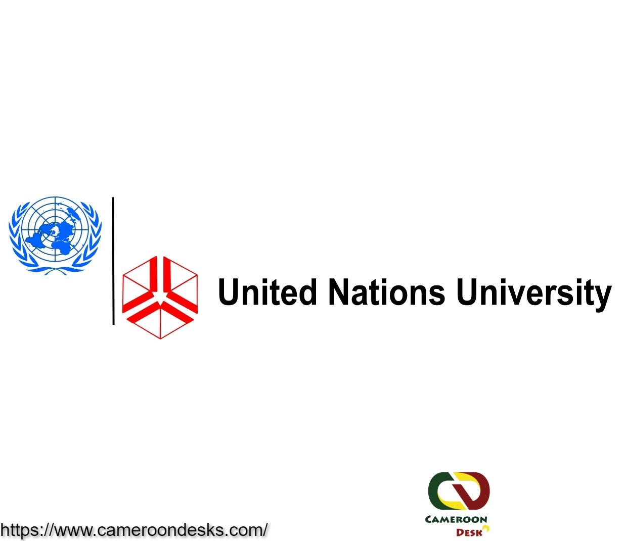 Bourses de maîtrise et de doctorat de l'université des Nations unies 2021/2022