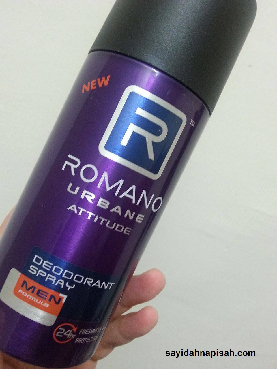 SEMBURAN DEODORAN ROMANO - KEYAKINAN UNTUK LELAKI URBAN