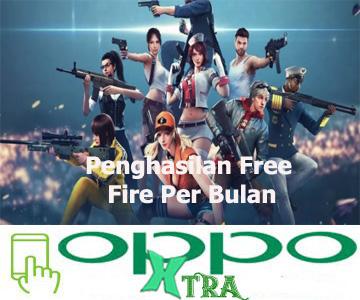 Penghasilan Free Fire Per Bulan