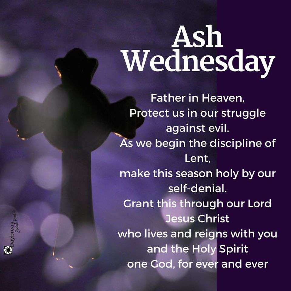 Ash Wednesday Wishes Lovely Pics