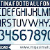 🔥🔥🔥Argentina 2020 Football Font Free Download by M Qasim Ali