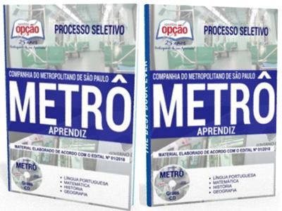 apostila-aprendiz-metro-processo-seletivo-2018