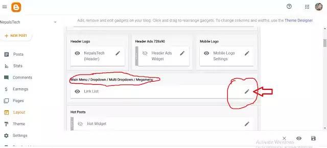 customize blogger
