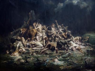 El Diluvio de Leon Francois Comerre