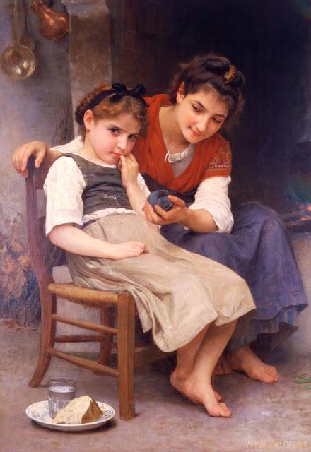 Адольф Вильям Бугро - Маленькая вредница (1888)