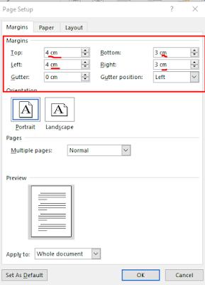 Cara Membuat Turus Di Word : membuat, turus, Mengatur, Margin, Microsoft, (Lengkap, Dengan, Gambar, Video), LADANGTEKNO