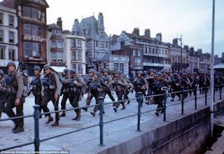 Preparativos Día D, tropas USA en Inglaterra