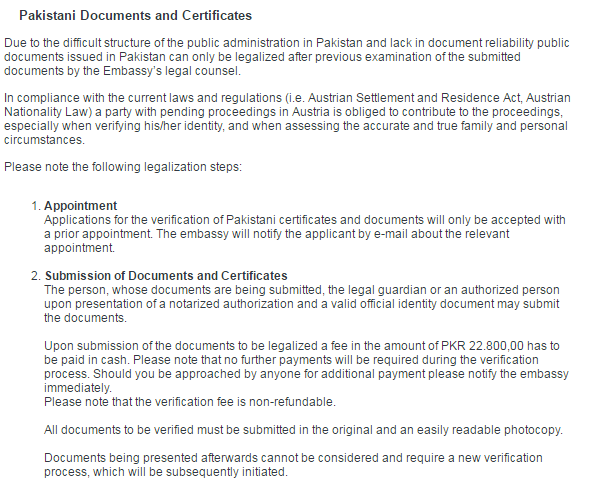 How to Get Appointment For Documents Verification and