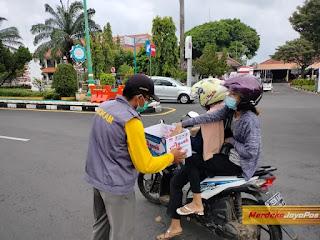 Aksi Turun Kejalan AMM Gelar Galang Dana Bantuan Bencana Kalsel dan Sulbar