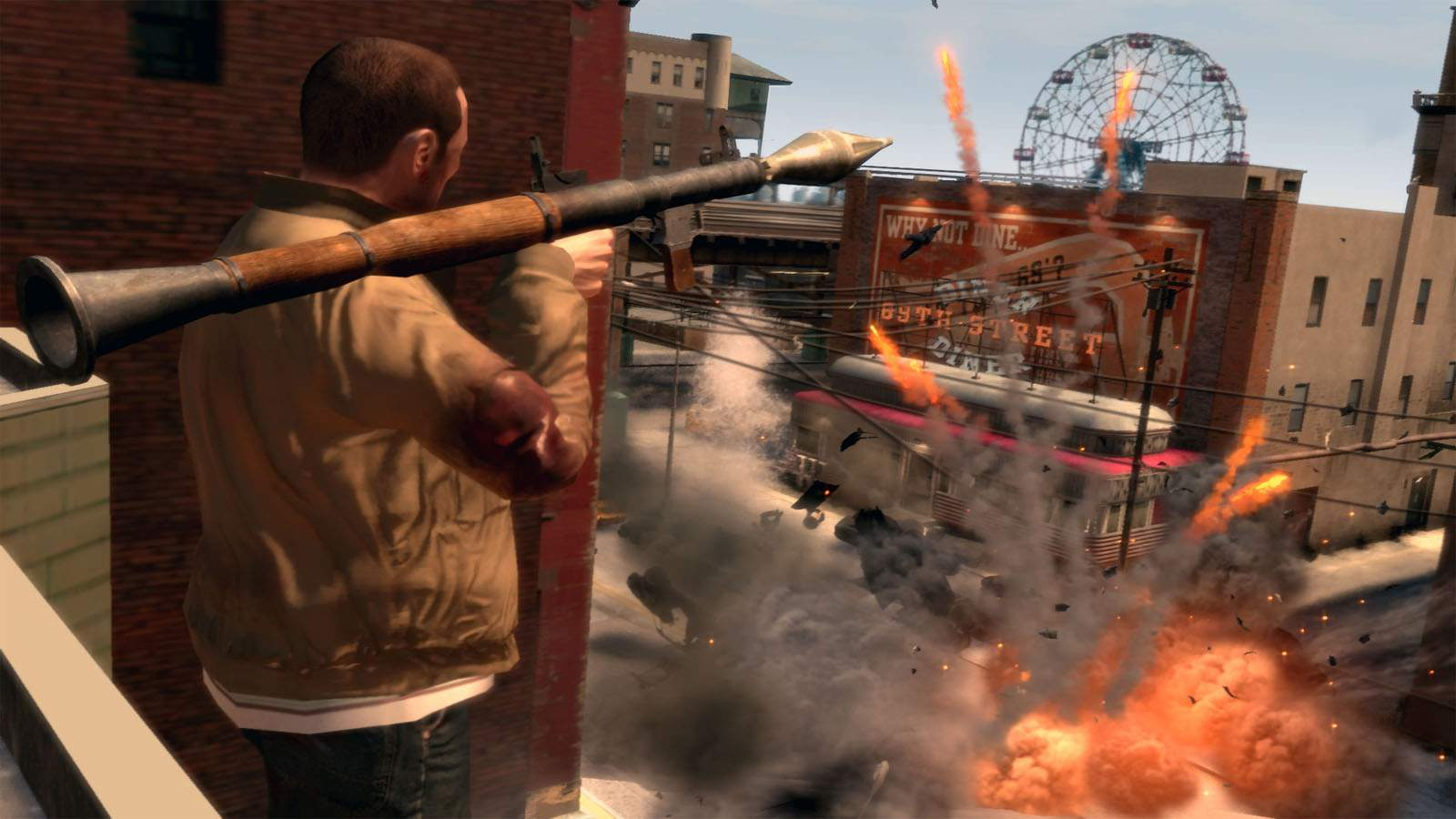 تحميل لعبة GTA IV مضغوطة برابط واحد مباشر + تورنت كاملة مجانا
