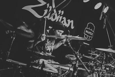 "Mariusz ""Bobek"" Bobkowski na Caban Drummer Fest 2018"