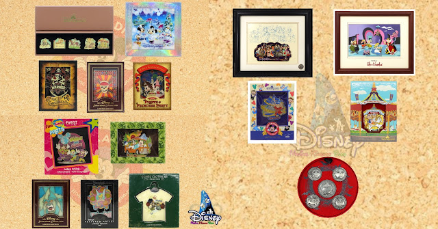 香港迪士尼樂園度假區 第二期及第三期官方網上徽章競投活動, 預告更多徽章款式, Hong-Kong-Disneyland-Resort-2nd-3rd-and-more-Online-Disney-Pin-Bidding