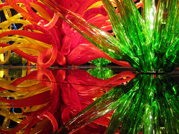 Chihuly's Mille Flori, 2008