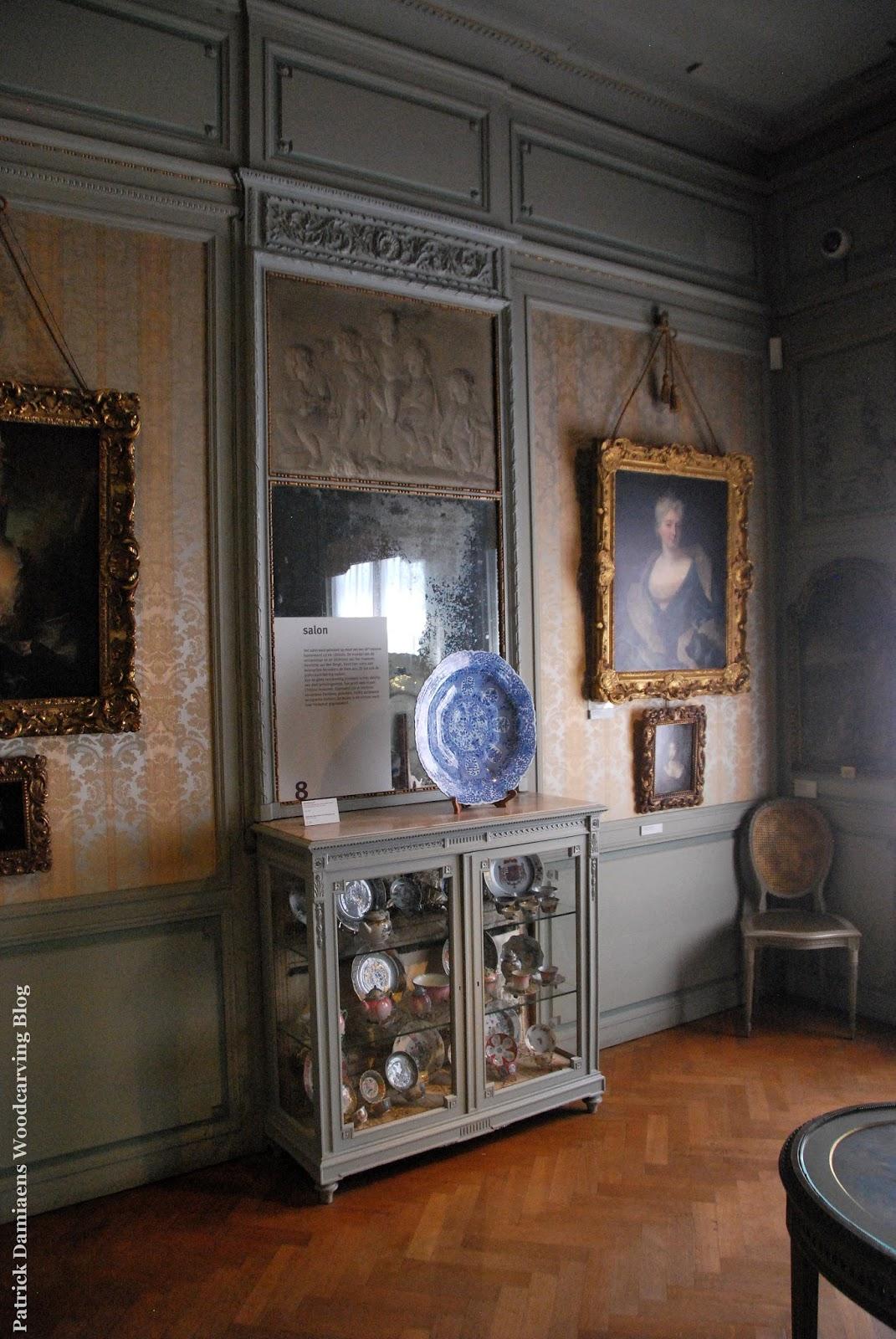 Ornamentsnijder patrick damiaens museum mayer van den bergh geverfde classicistische - Lambrisering lijstwerk ...