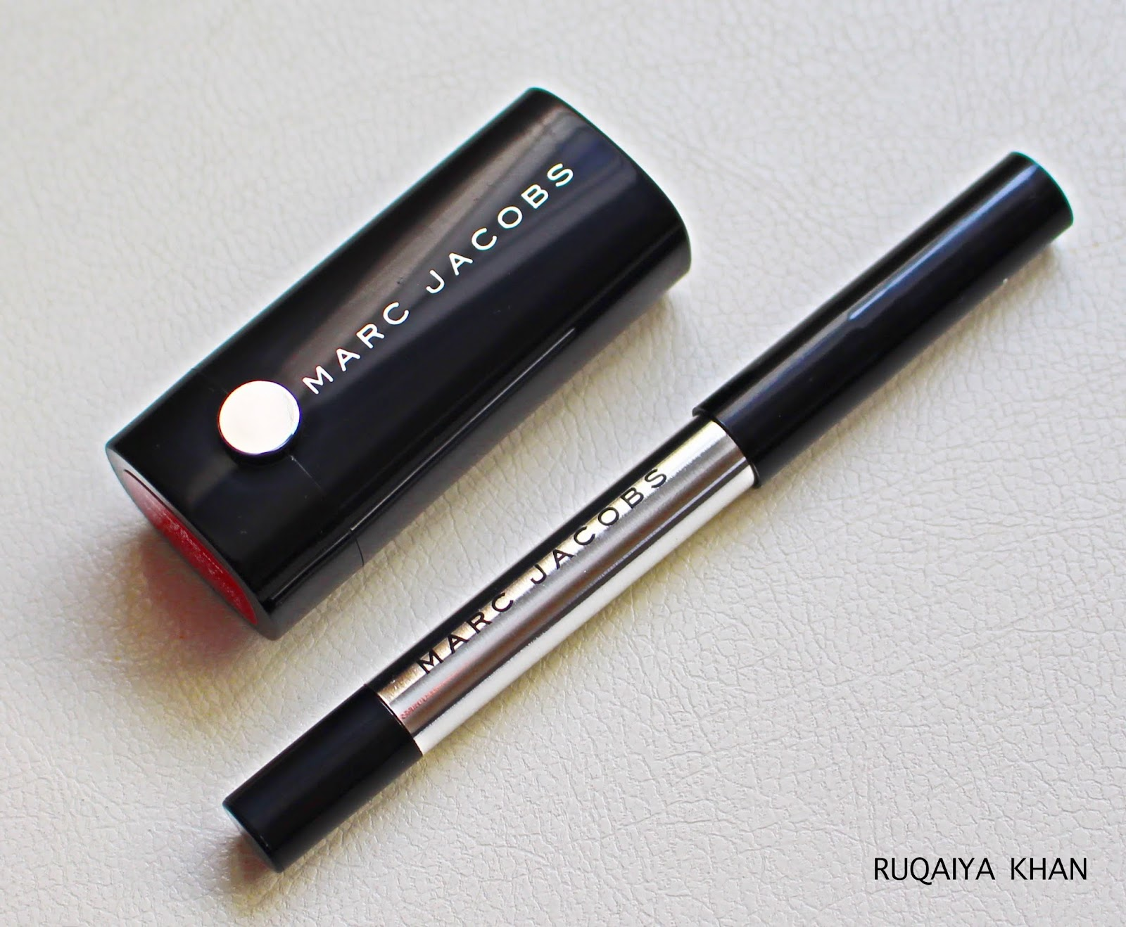 Sephora Birthday Gift 2016 Le Marc Lipstick In Kiss Bang And Highliner Gel Crayon Blacquer
