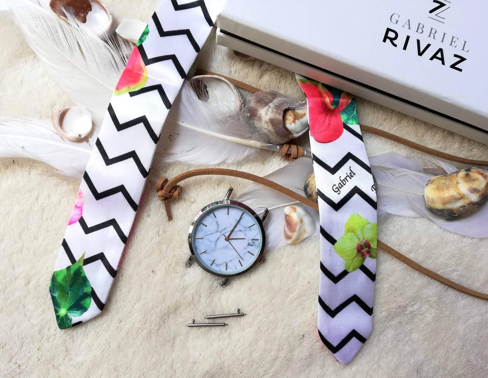⌚ Des montres fun aux bracelets en soie interchangeables avec GABRIEL RIVAZ
