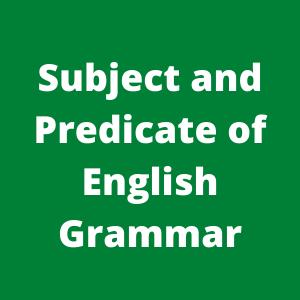 Subject and predicate| Bangla English Grammar| learn English Grammar step by step 2020| ঘরে বসে ইংরেজি গ্রামার শিখুন সহজ করে।