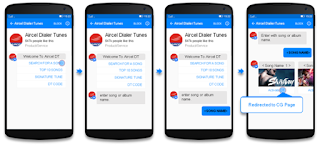 Aircel launched an exclusive industry's first product, Dialer Tune – Facebook service on Valentine's Day