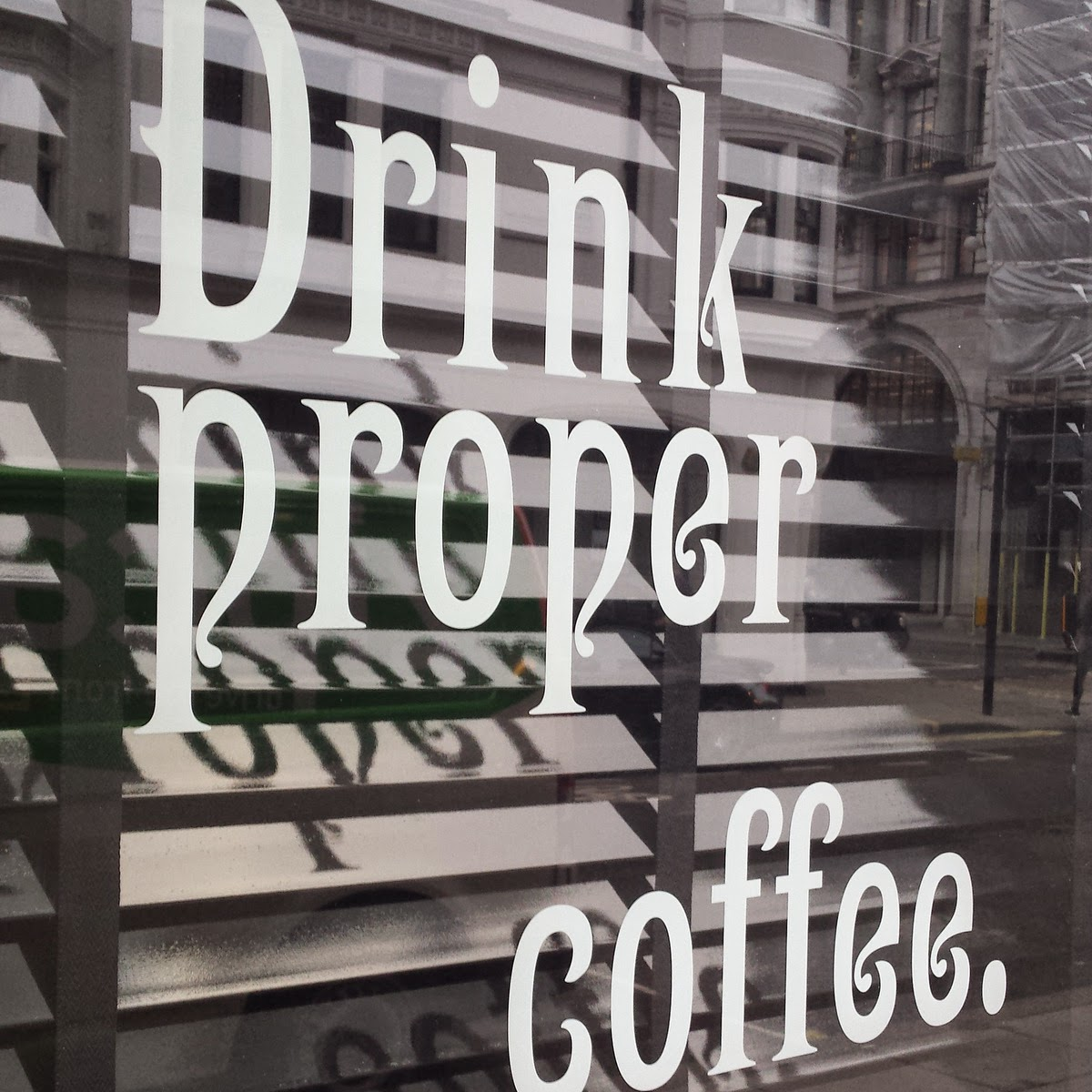 Back On Track Coffee - Coffee, coffee, coffee secrets of Oxford Circus