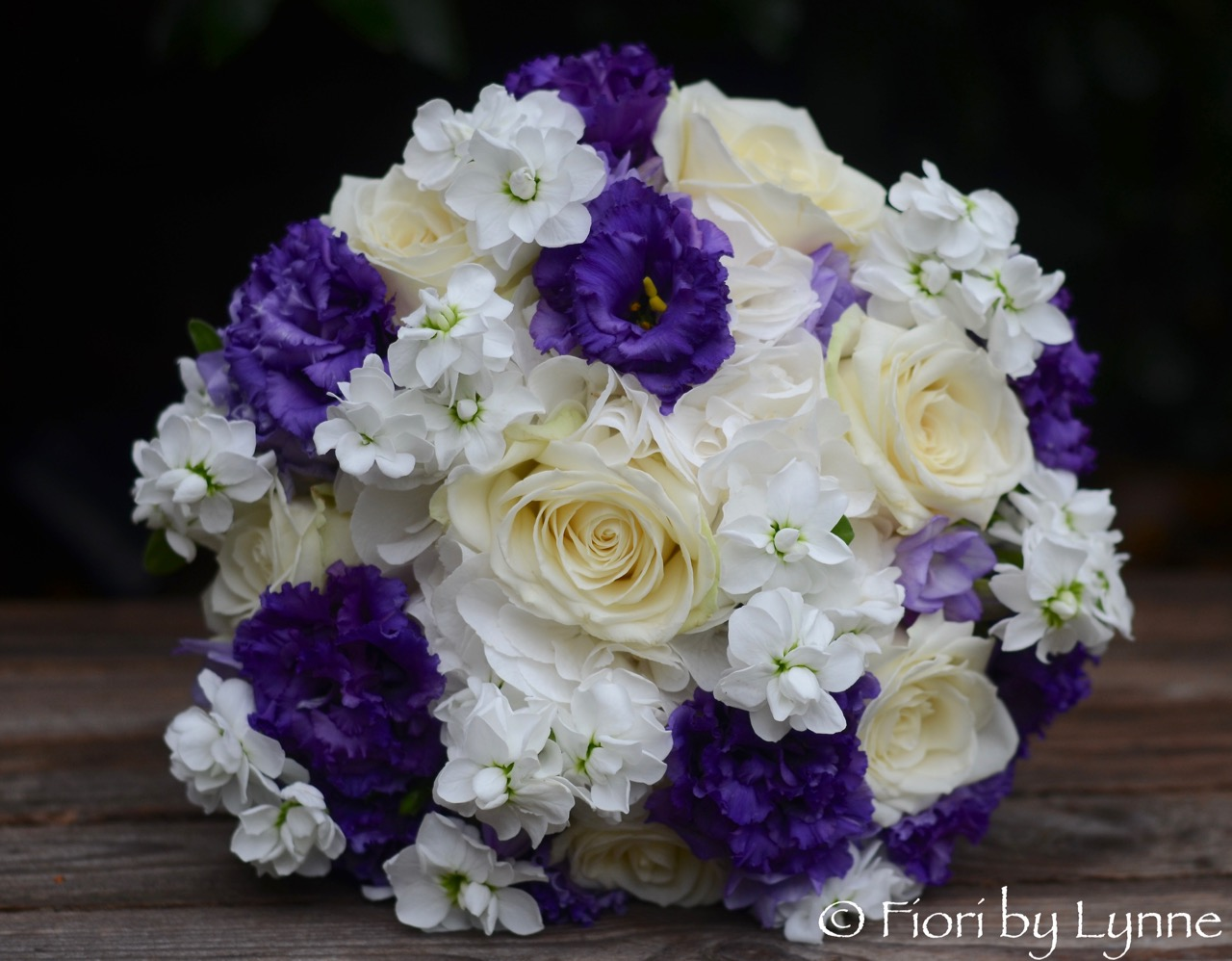 Wedding Flowers Blog Hannah And Stuarts Classic Purple And White