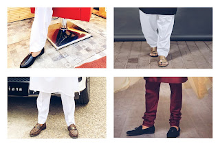 4 types of shoes pair with kurta-pajama.