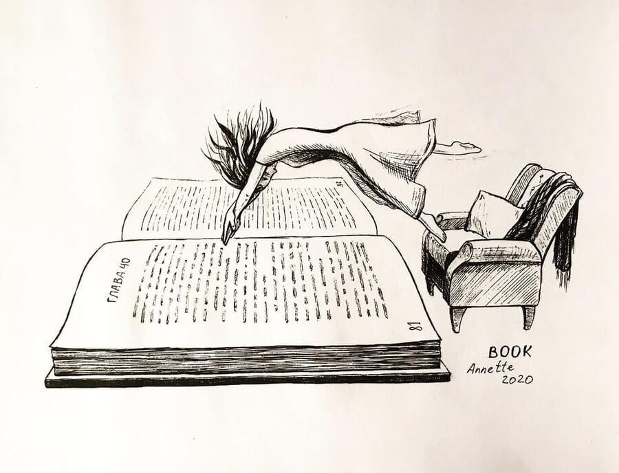 03-Dive-in-your-favourite-book-Anna-www-designstack-co